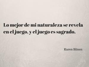 Frase Karen Blixen